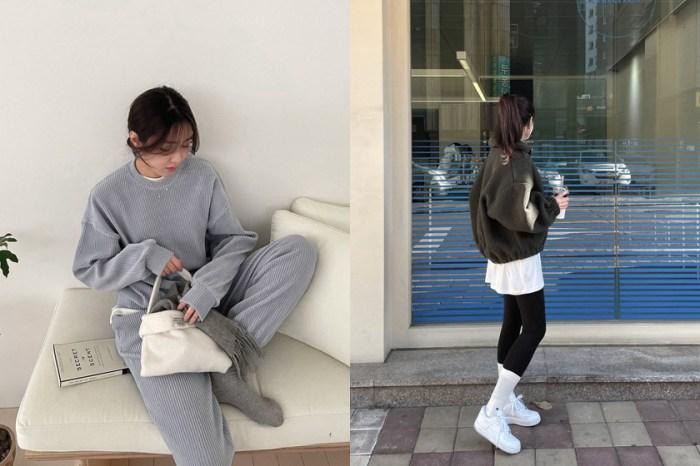 衛衣時髦的關鍵:日本女生都在裡面偷加這件 UNIQLO 長版上衣!