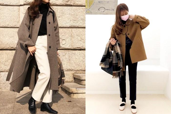 POPBEE 編輯部推介:有了這件大衣,一件走天涯也可以百搭又時尚!