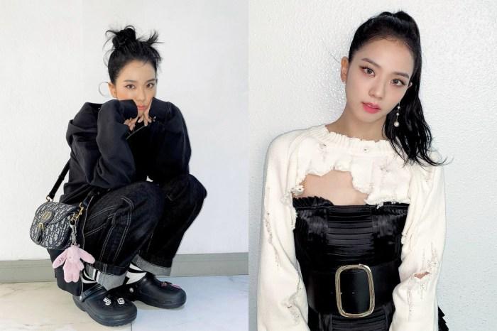 BLACKPINK Jisoo 展示新戲造型,身上的男裝手袋意外成為焦點!