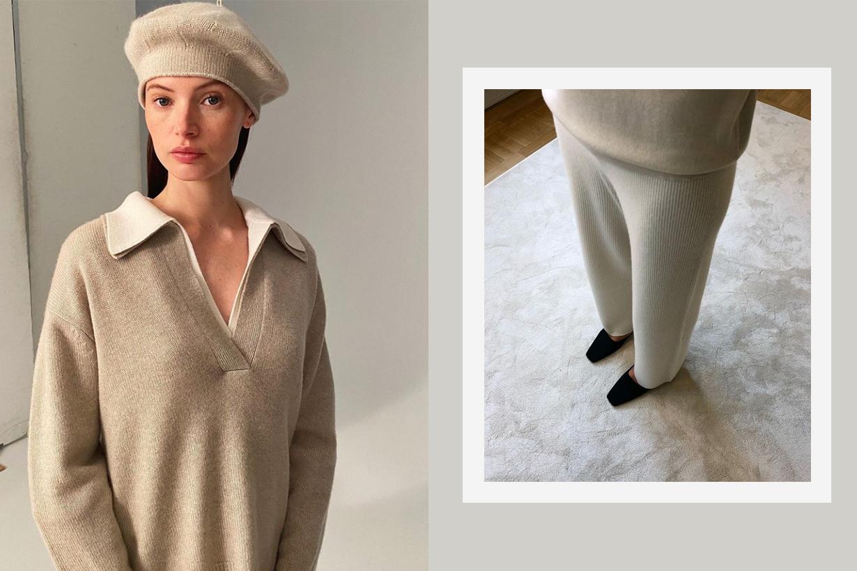 Stockholm-based LISA YANG Cashmere Items