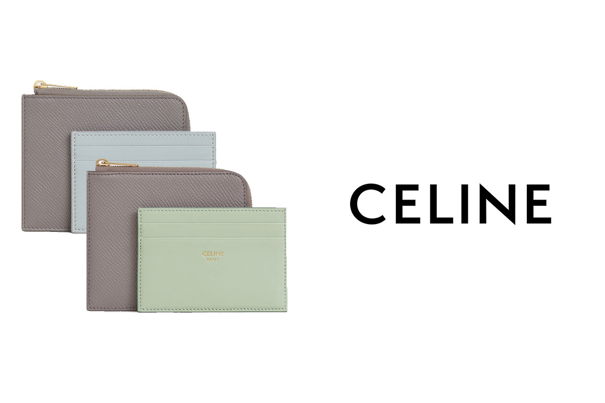 Celine Zipped Purse With Removable Card Holder