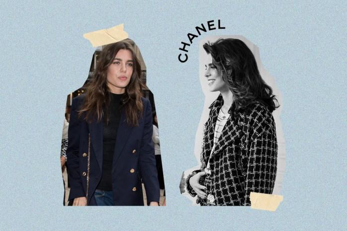 不只是大使,彷彿就像是穿著 CHANEL 出生的女人 Charlotte Casiraghi