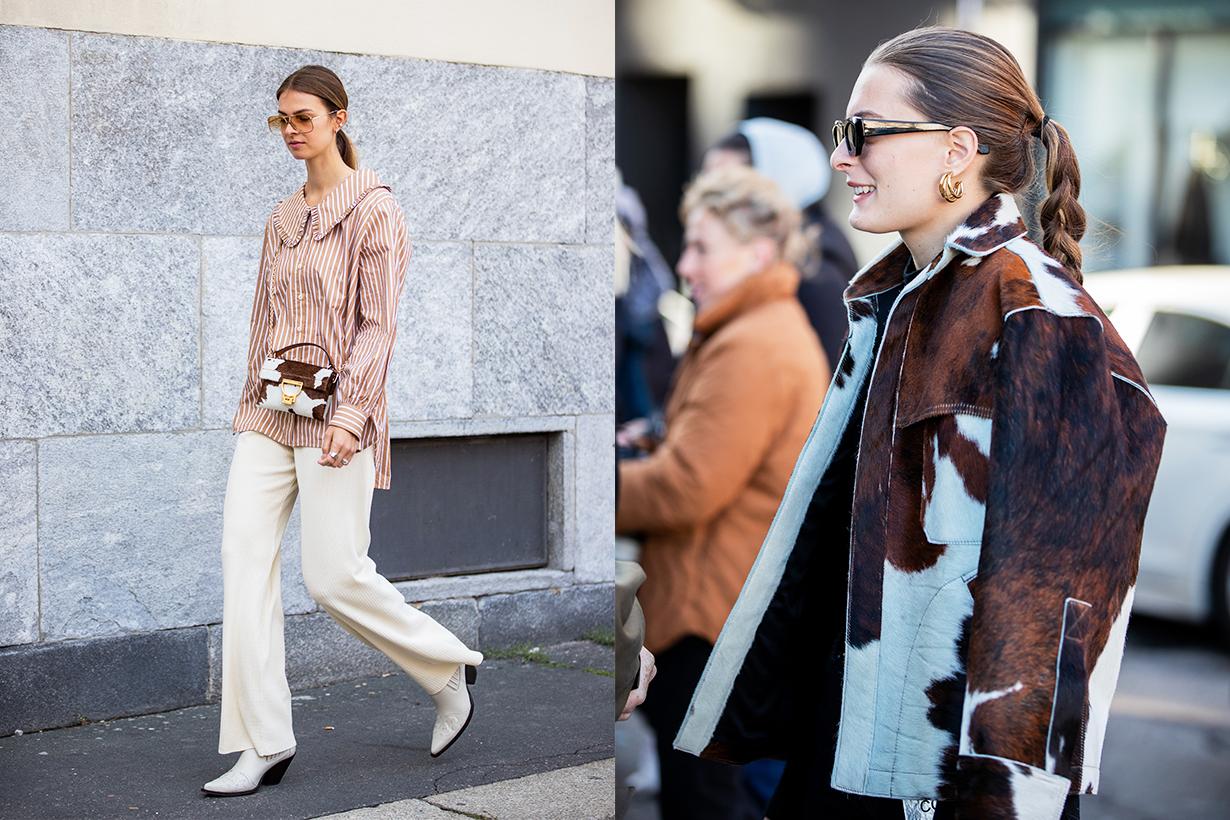 Cow Print Fashion trends 2021 Spring Summer Fashion Items Fashion Prints