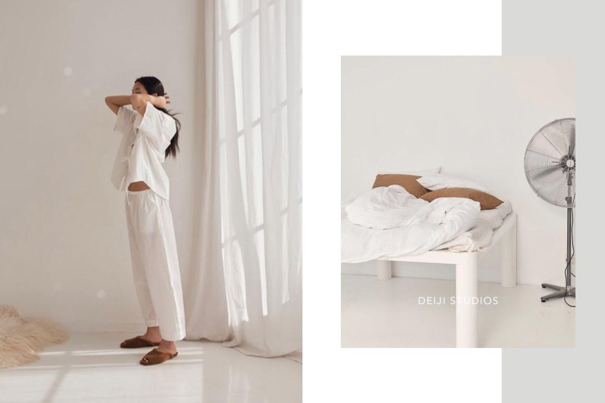 Loungewear Label Deiji Studios Founded by Juliette Harkness and Emma Nelson