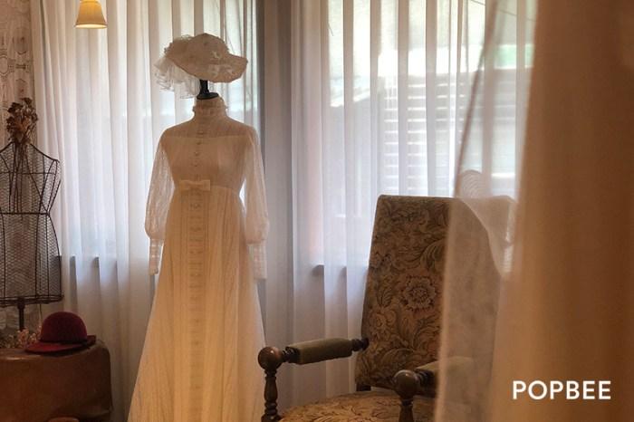 #POPBEE 專訪:走上眉梢 Heart to brow,穿上承襲著舊歐洲的古董婚紗!