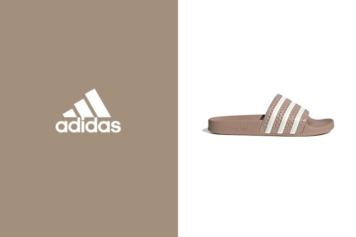 辦公室+居家必備:adidas 熱銷拖鞋,全新焦糖色令女生搶著入手!