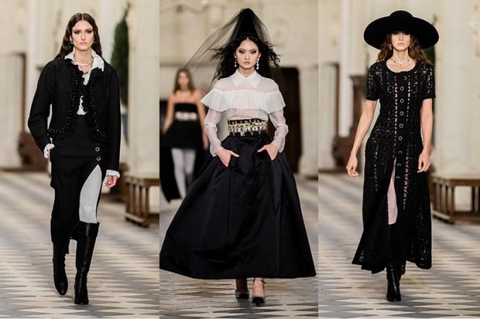 法式優雅宮廷:Chanel 2021 工坊系列,住在城堡裡的中古世紀公主!