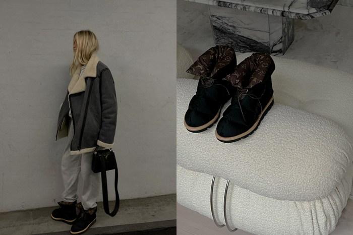 一上架攻佔 IG:這雙「枕頭靴」將是 Louis Vuitton 下款爆紅單品!
