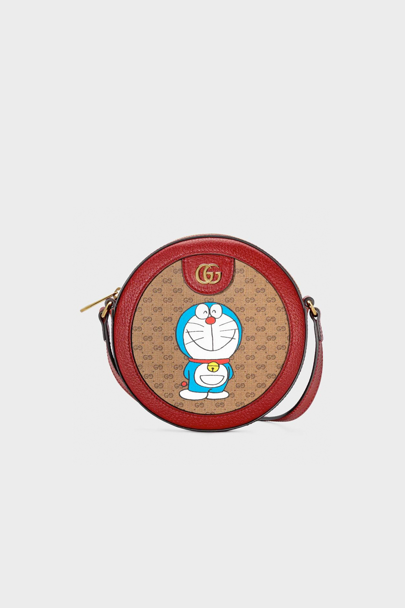 Gucci Doraemon handbags where buy when GG Supreme Epilogue