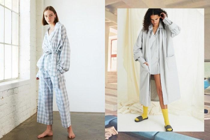 美得可以直接穿出門!這個品牌的睡衣不但設計時尚,還非常軟滑舒服!