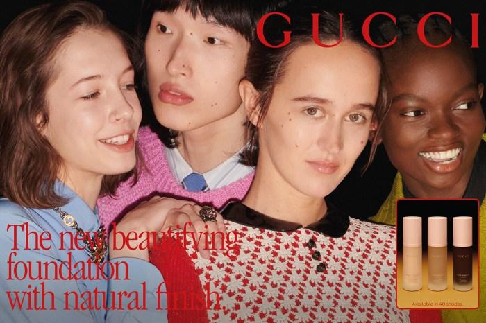 嫩粉色極美瓶身中,是 Gucci Beauty 全新推出的粉底液和妝前精華!