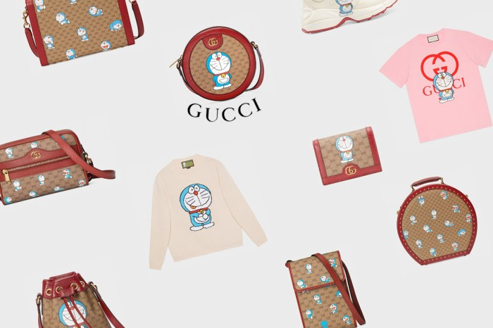 Gucci x 哆啦 A 夢聯名緊接著釋出:一口氣 38 項單品,開放預購中!