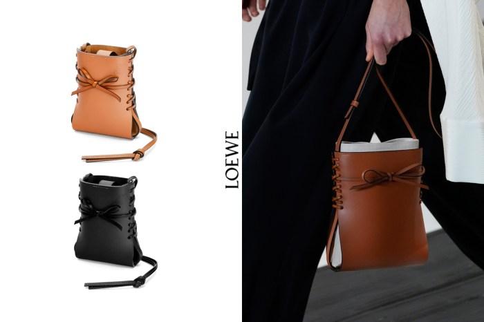 Loewe 接下來紅這顆:全新款 Ikebana Bag,一上架就備齊三種尺寸!