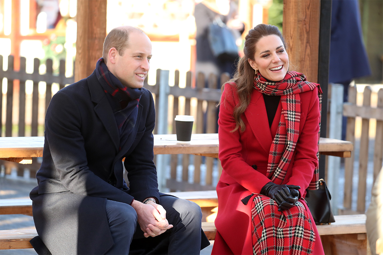 Kate Middleton Gets Festive by Piling On the Tartan