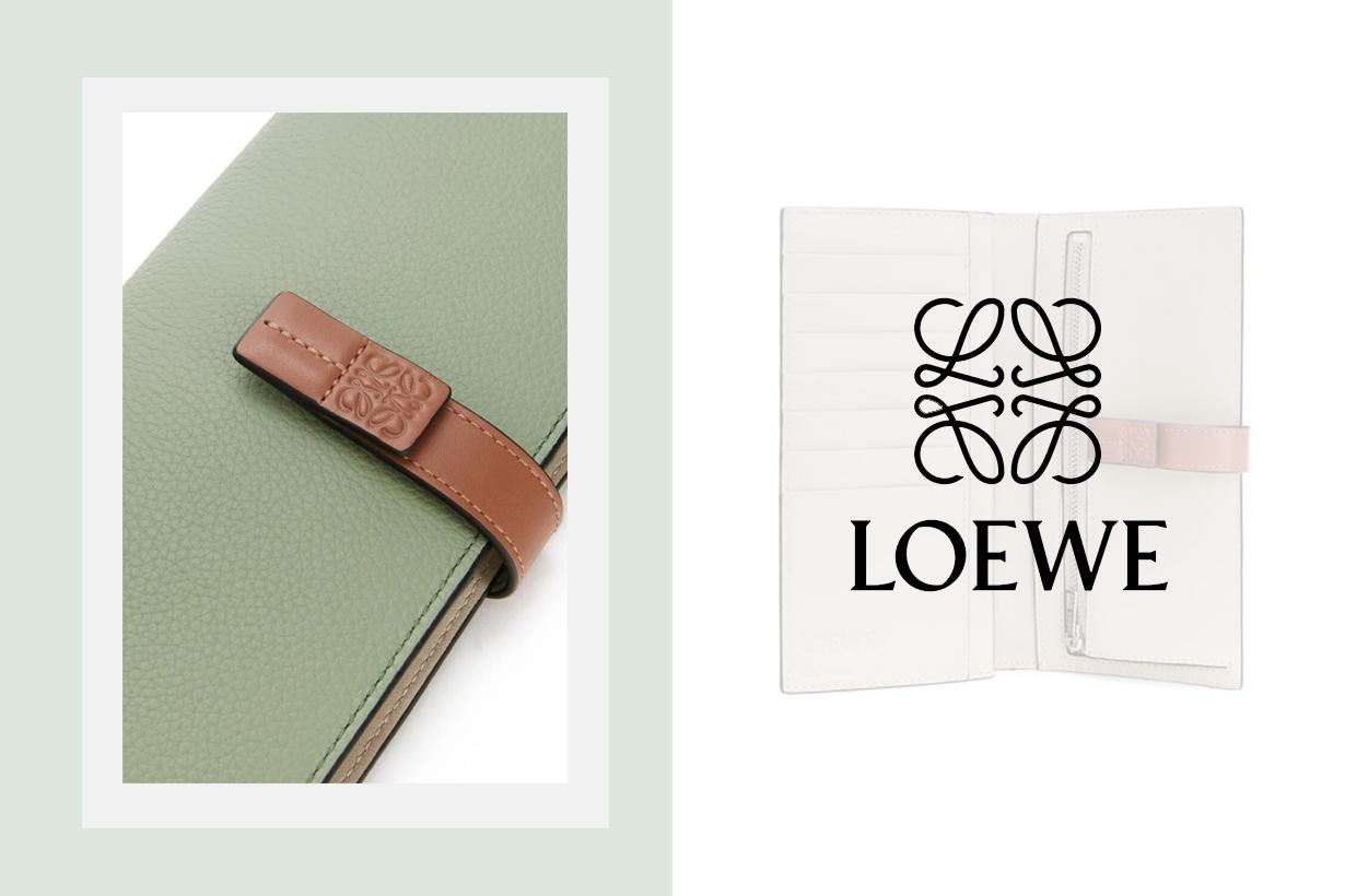 Loewe Vertical Leather Wallets