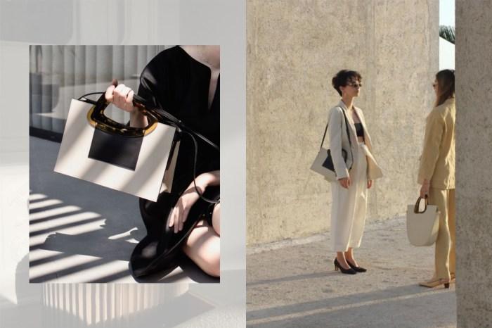 自然色系+建築感線條,這個米蘭品牌的手袋令人一眼愛上!