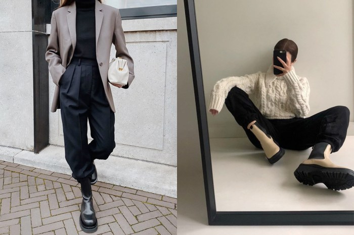 一秒變時髦的穿搭技巧,褲管紮進靴子的 2O 1X 公式!