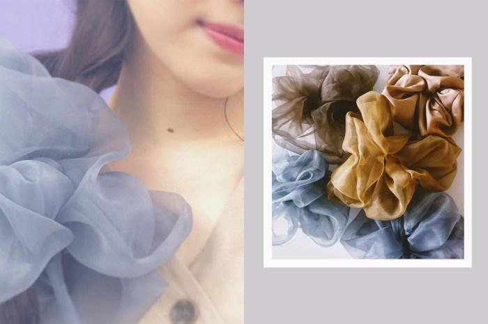 夢幻氣息也太濃:日本女生都愛的空氣感 Scrunchie,來自這個小眾手工品牌!