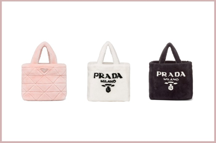Raf+Miuccia 雙總監首個系列:搶先上架,Prada 毛絨手袋不能不愛!