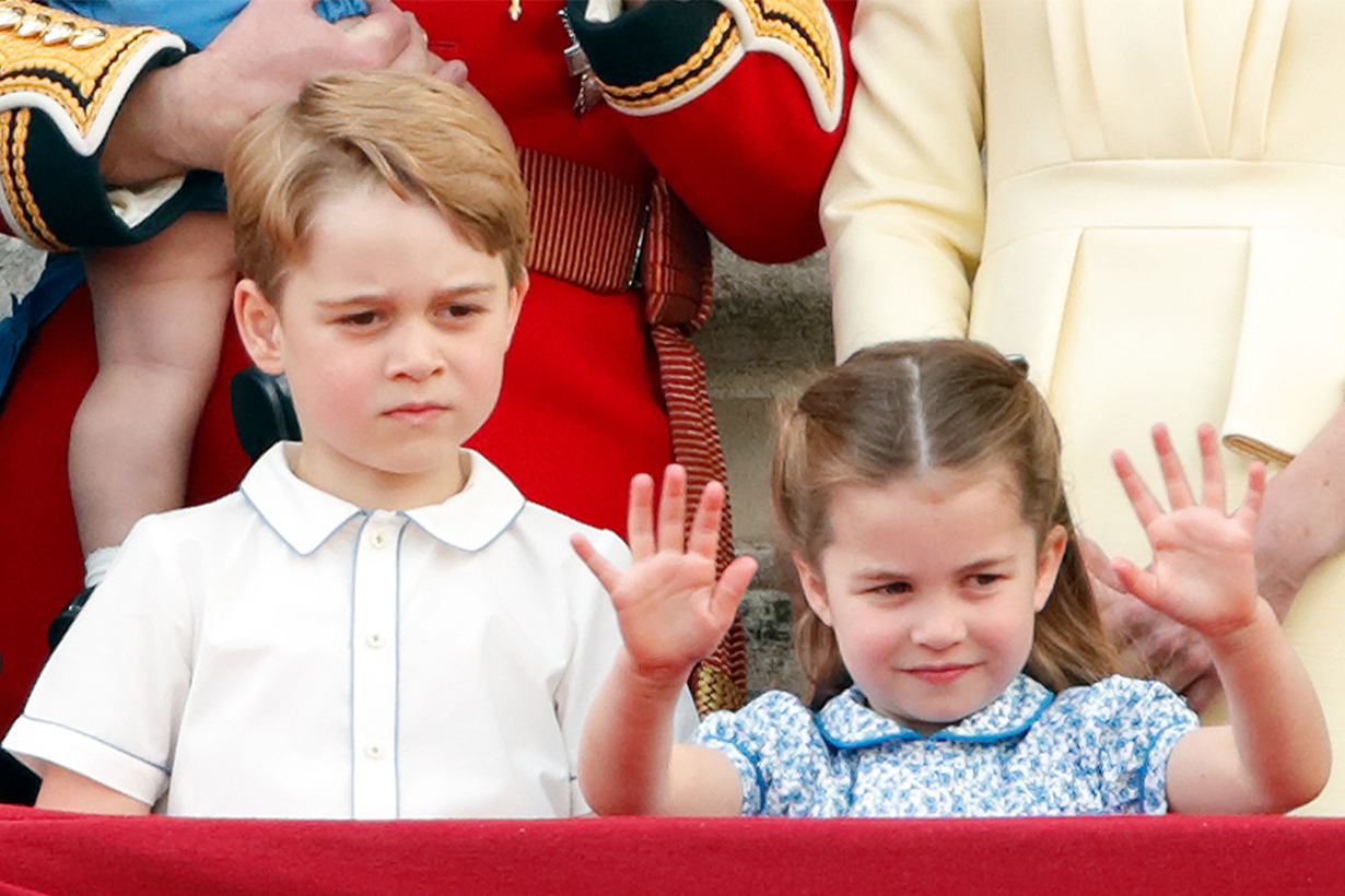 Prince George Princess Charlotte Prince Louis Prince William Kate Middleton British Royal Family Royal Nanny royal children