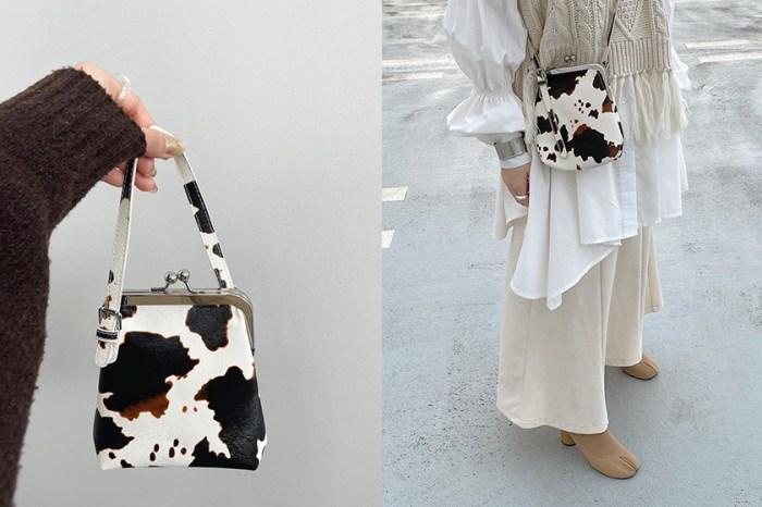 下一季流行它:日本女生 IG 悄悄揹上,這一款可愛+時髦「乳牛紋」小包!