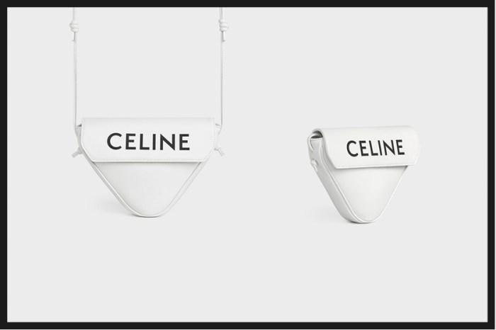 偷偷發現男包區:Celine 極簡三角包,未上架詢問度就超高!