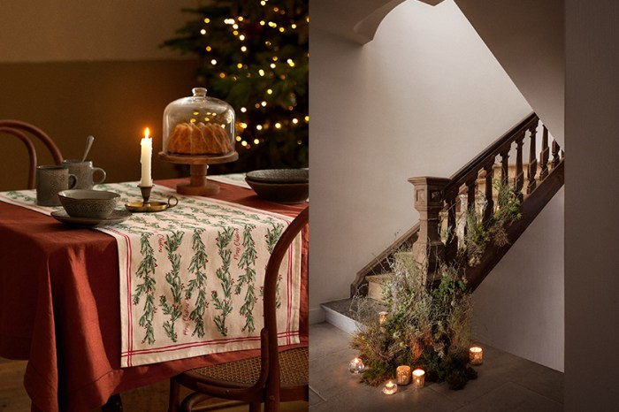 正在找佈置靈感?Zara Home 推出聖誕居家系列,溫馨又有品味!