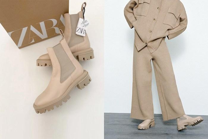 再添一雙基本款:Zara 奶油白短靴,今年秋冬必敗單品!