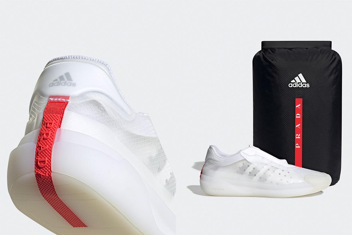 prada for Adidas luna rossa sneakers 2020