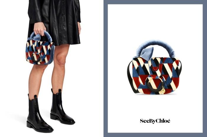 小資女必愛!See By Chloé 這款人氣手袋,法式色調+絨面細節充滿貴氣!