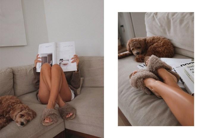 奢華舒適兼備:每個歐美女生冬天必備的,就是這對毛毛拖鞋!