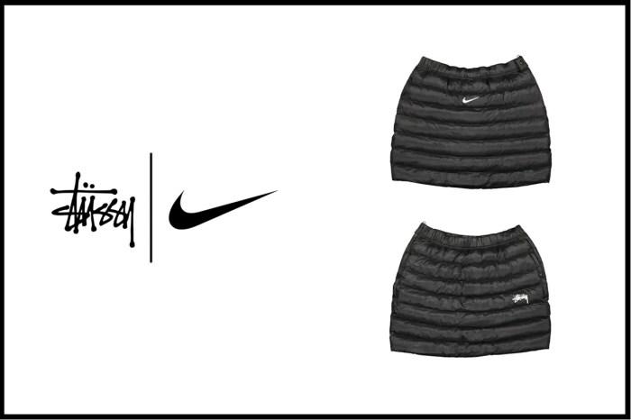 Stüssy x Nike 聯名服裝將發佈,這一件羽絨 A 字裙已受到時髦女生注目!