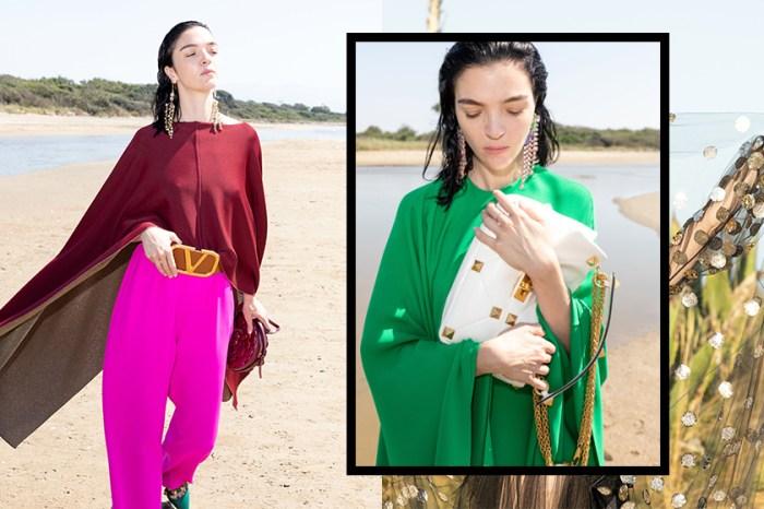 精緻時尚質感:標誌性鉚釘設計大變革,新季 IT Bag 就在 Valentino 早春 Diary Collection 系列!