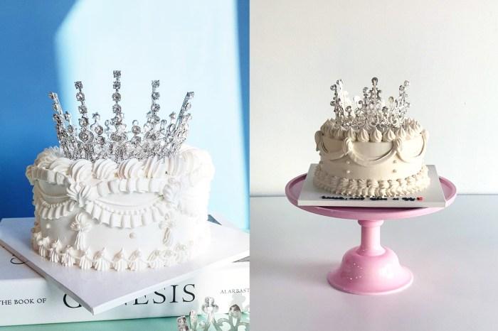韓國網絡熱爆!這款「皇冠蛋糕」應該會讓你非常期待自己的生日吧!
