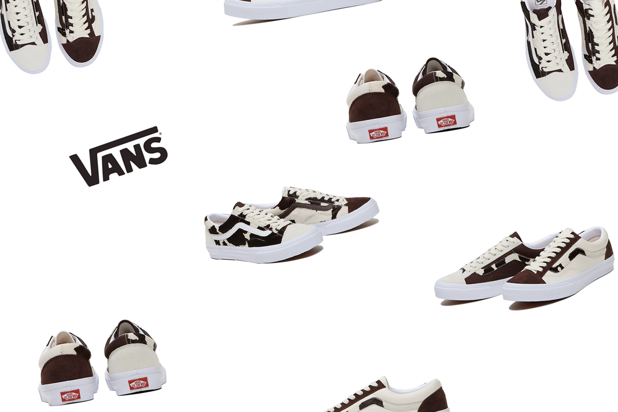 vans billys cow prints limited edition 2021 where buy