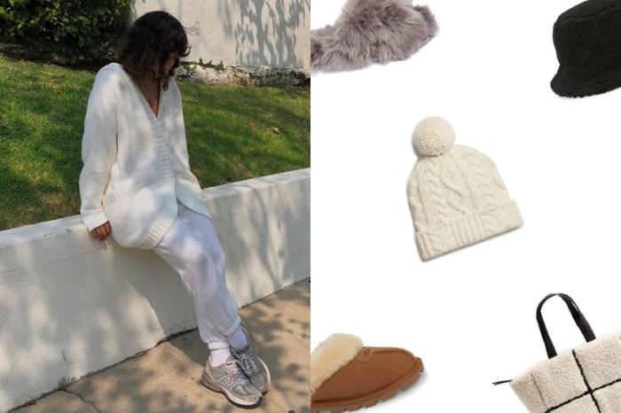 最該買的冬日小物:5+ 不會出錯的毛絨單品,時髦女生偷偷收進衣櫃!