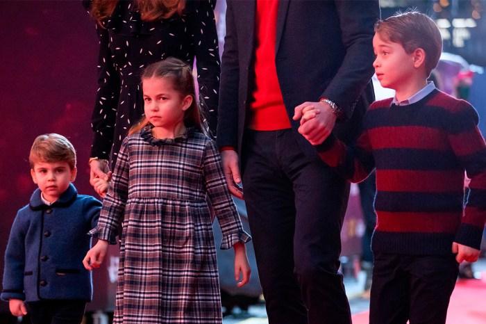 喬治王子三兄妹初次步上紅地毯,淡定表現甚具王室風範!