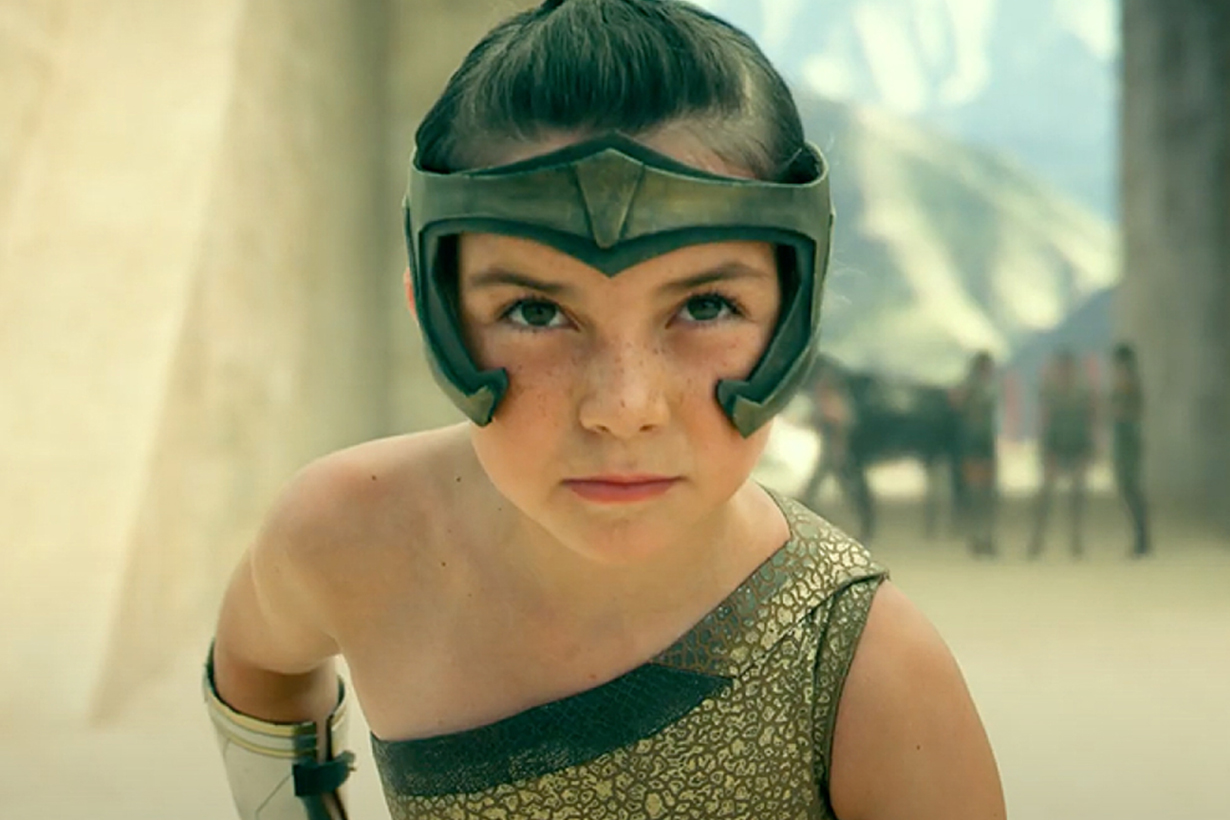 Wonder Woman 1984 young Diana cast Lilly Aspell