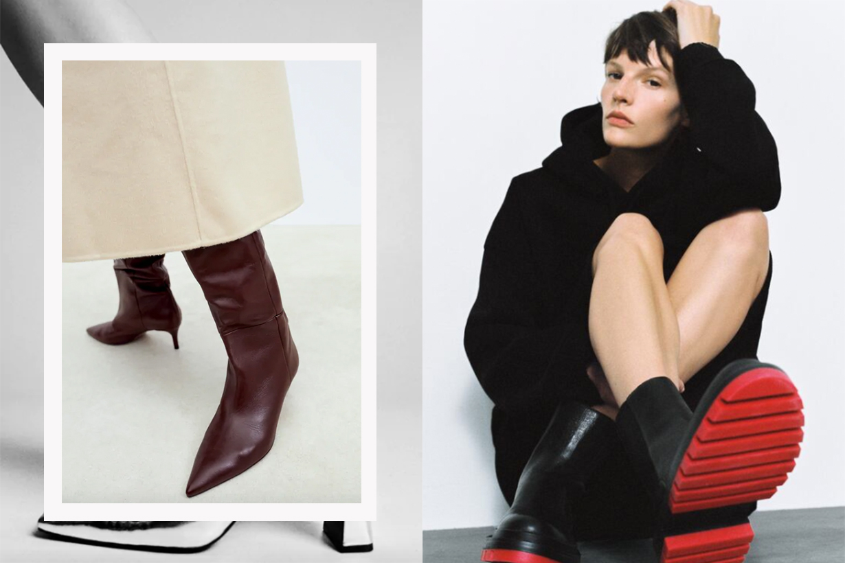 The Boot Trends That Are Going to Be Big in 2021, According to Zara