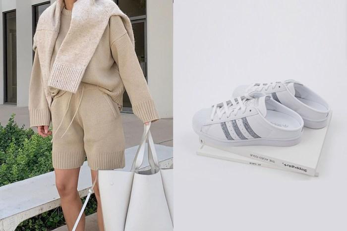 搭配簡約的 Boyish 風格:adidas Originals 再度推出變奏版 Superstar 穆勒鞋!