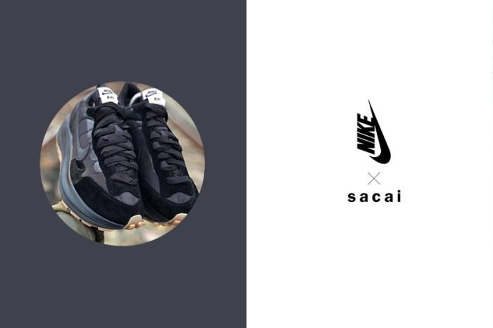 最好搭配的黑色調:球鞋女生們夢想的 sacai x Nike Vaporwaffle 又有迷人配色傳出!