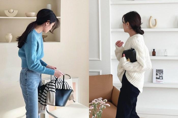 保暖時尚並重!推介 10 款百搭又有慵懶感的毛衣,是寒流來襲時的最佳單品!