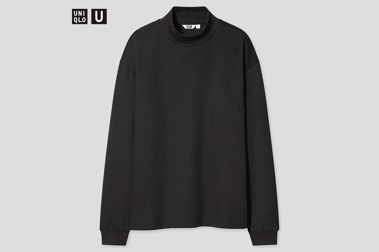 UNIQLO Mock neck pullover sweaters