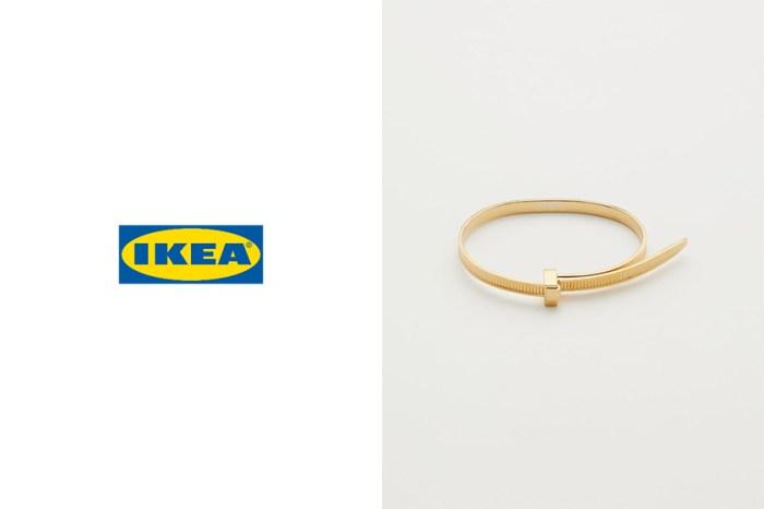 憑著 Ikea 這個廣告,把 Ambush 這款膠索帶手鈪再次推上熱搜榜!