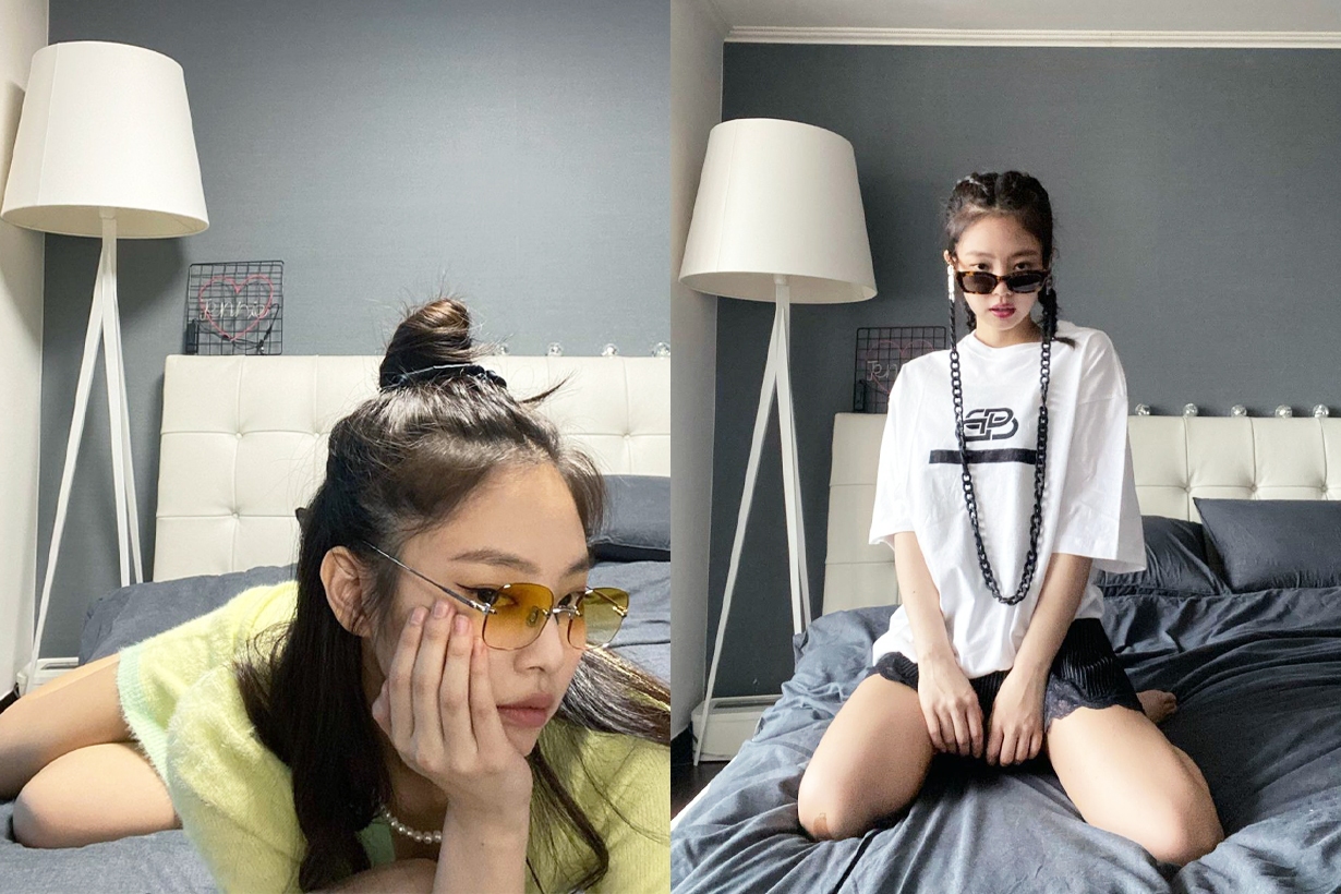 BLACKPINK Jennie Lisa Jisoo Rose Bedroom Bed Hastens Sweden luxury mattress brand celebrities style korean idols celebrities singers girl bands