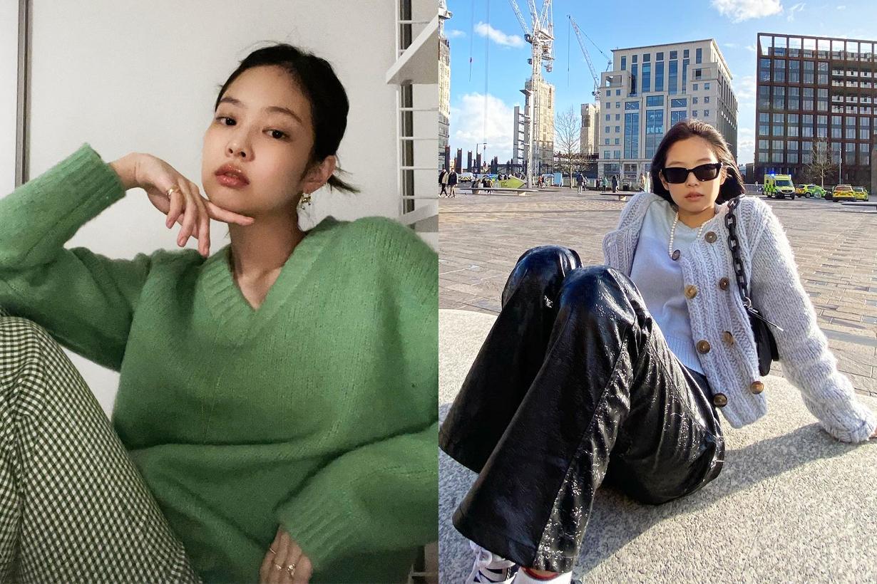 BLACKPINK Jennie Lisa Jisoo Rose Instagram styling Loewe x My Neighbor Totoro Puzzle Bag Studio Ghibli handbags crossover collection