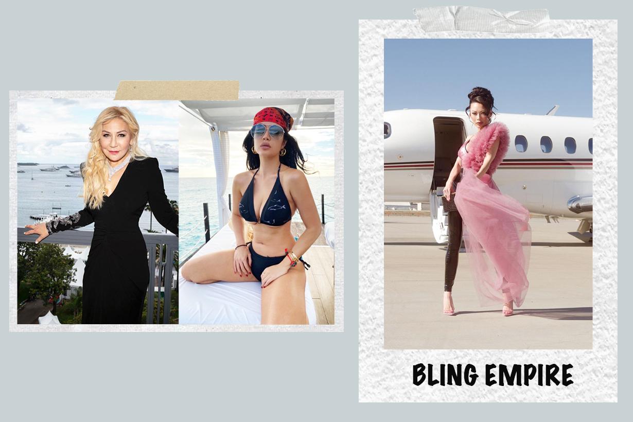 Bling Empire Netflix Reality Show Christine Chiu  Anna Shay Jaime Xie Cherie Chan Kim Lee Kelly Mi Li Kane Lim Guy Tang Kevin Kreider