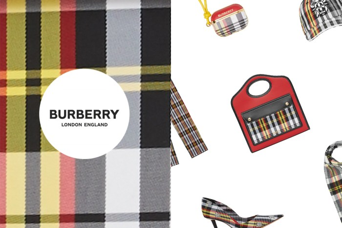 期間限定:個性不減時髦,Burberry 的全新格紋引起討論!