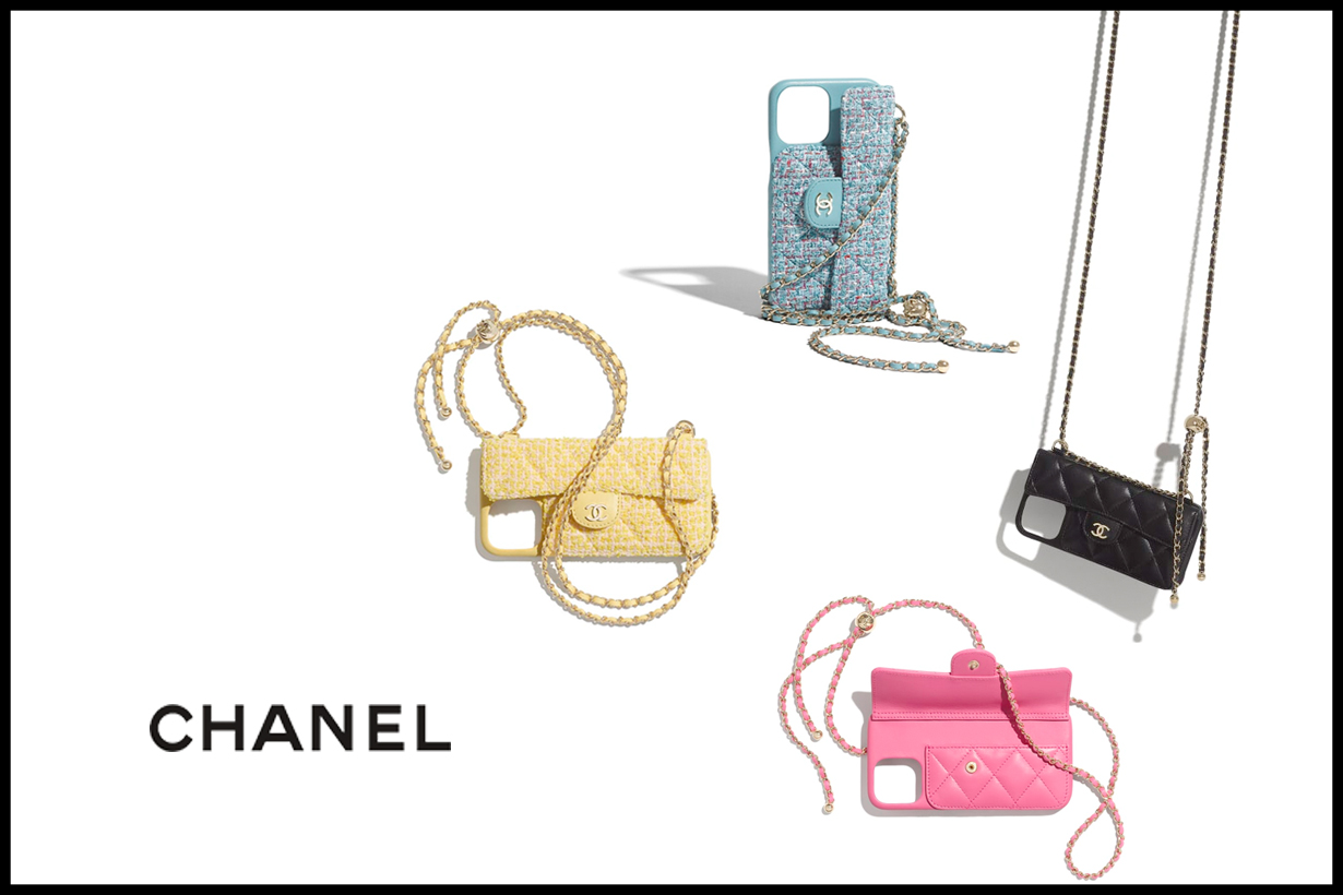 chanel iphone case chain bag 2021 pre spring 12