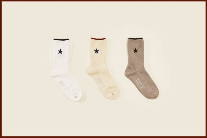 Converse 認可:星星刺繡+滾邊細節,絕對是最搭 All Star 的襪子!